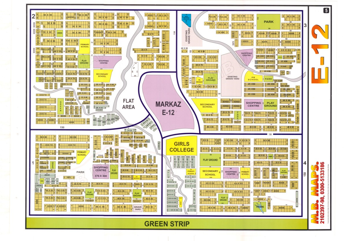 Plot for sale in E12 sector Islamabad