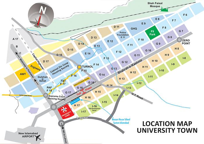 University-Town-Islamabad-Location-Map-min